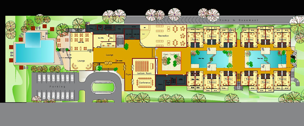 Kriti architects interior designers five star hotel goa for Hotel design 3 stars